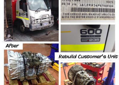 Isuzu Truck Gearbox Replacement Perth