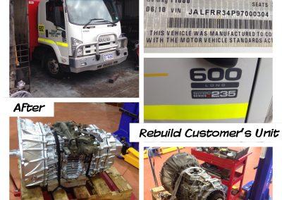 Isuzu Truck Gearbox Replacement Perth