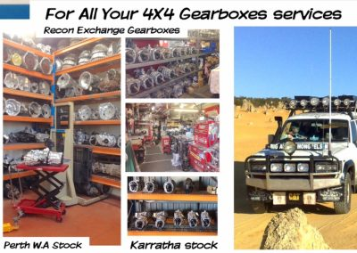 Gearbox Replacement Karratha