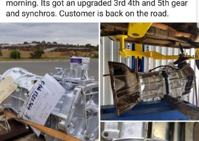 Toyota Landcruiser Gearbox Repair